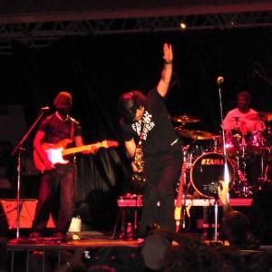 Boney James beim Clearwater Jazz Holiday.