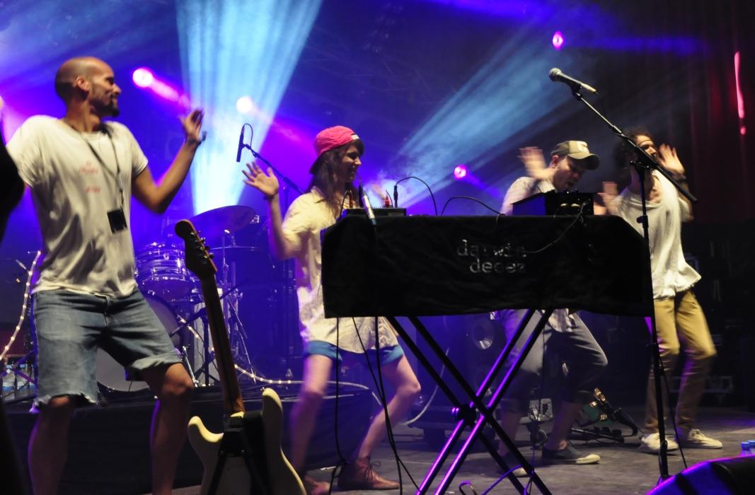 Auch danach erwiesen sich alle Mitglieder seiner Band als echte Energiebündel.