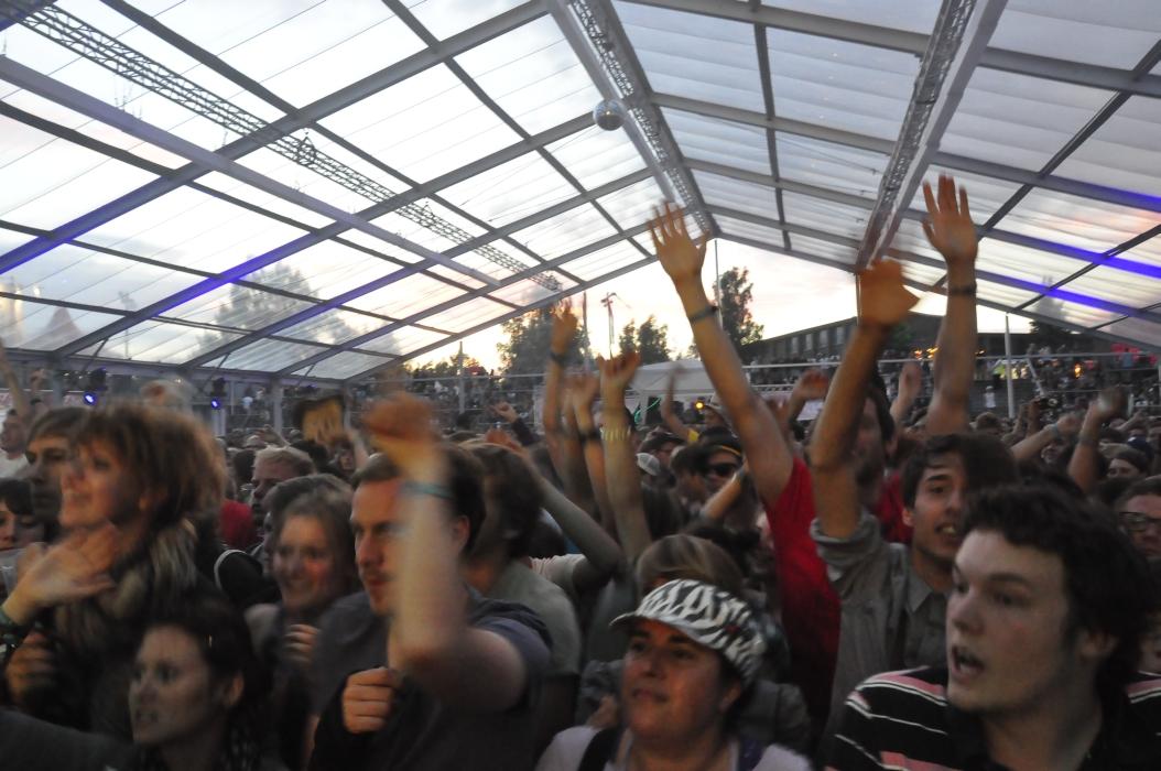 Die Fans waren jedenfalls begeistert.
