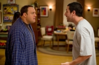 Chuck (Adam Sandler, rechts) und Larry (Kevin James) tun so, als seien sie schwul.