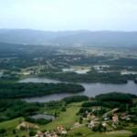 """Deshalb heißt diese Gegend wohl """"Plateau der 1000 Seen"""". Ich habe übrigens nachgezählt: Es sind mehr."""