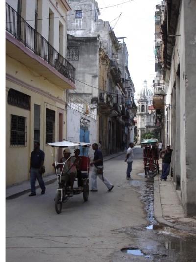 Straßenansicht in Havanna.