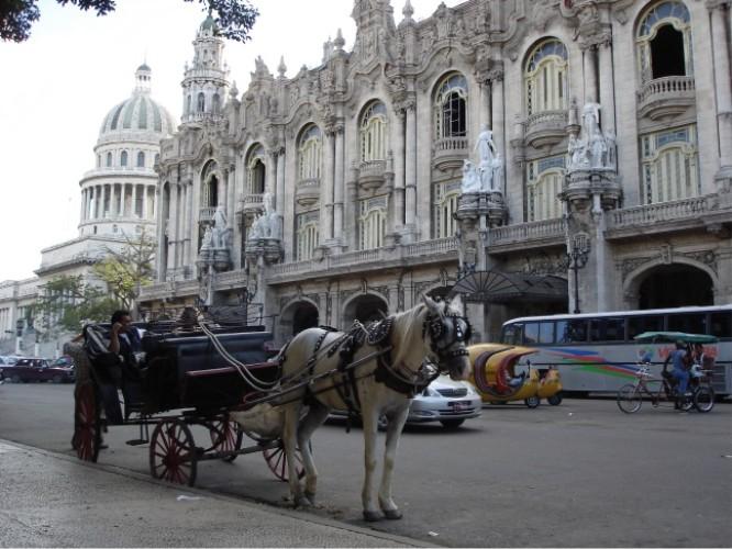 Havannas Capitol ist dem von Washington nachgebaut. Das war natürlich vor dem Embargo.