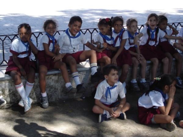 Erstaunlich: In diesem Alter sprechen die Kleinen alle schon fließend Spanisch.