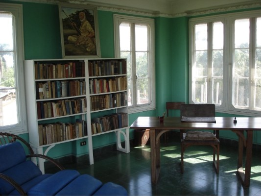 Ein kleines Arbeitszimmer im Aussichtsturm von Hemingway!