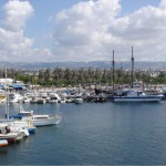 Der Hafen von Paphos.
