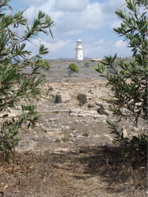 Der alte Leuchtturm von Paphos.