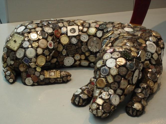 """Der """"Watchdog"""", das Highlight im """"Gulf Coast Museum of Art"""" in Largo."""