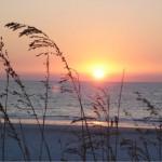 Sonnenuntergang in Clearswater.
