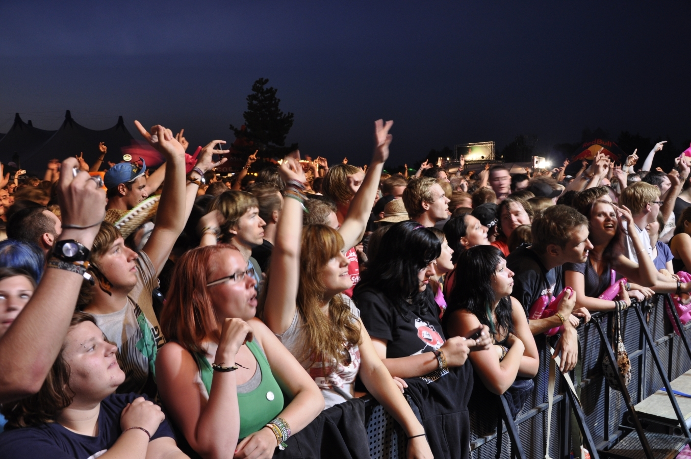 Bis zu 25.000 Fans werden beim Highfield 2010 erwartet.