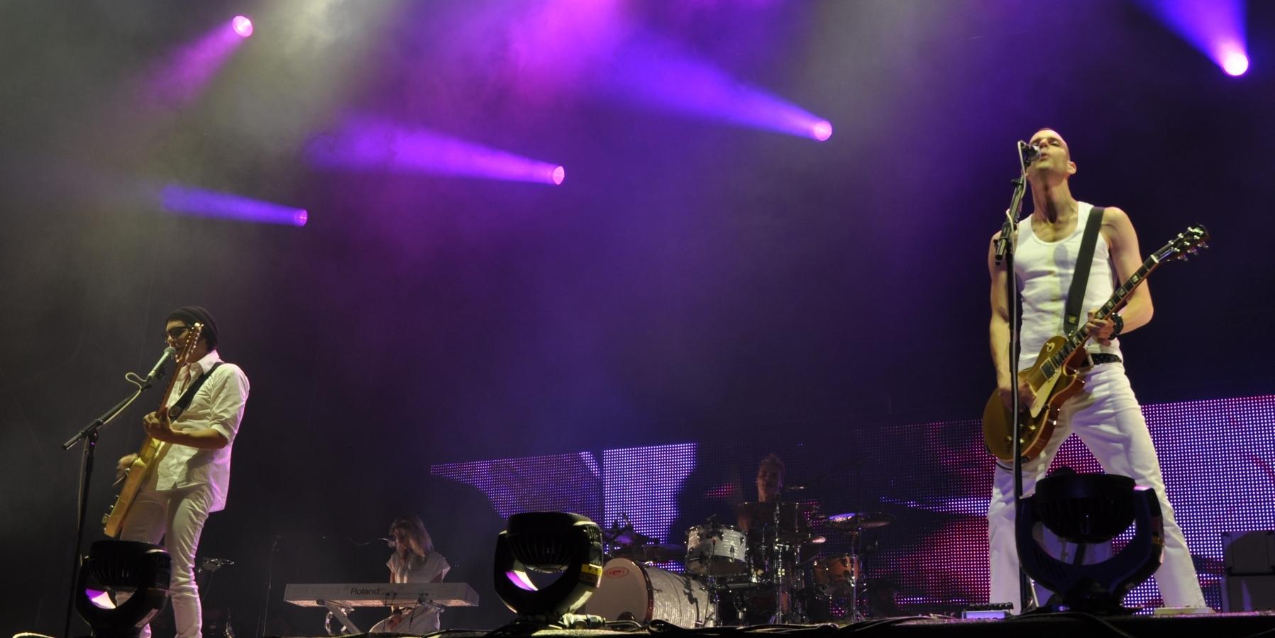 Placebo waren der Headliner am Samstag.