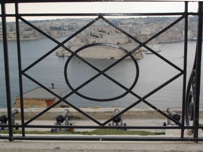 Der Hafen von Valetta.