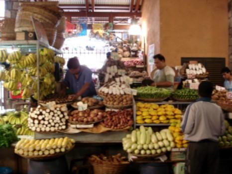 Der Markt in der Hauptstadt Port Louis.