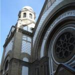 Die Synagoge von Novi Sad.