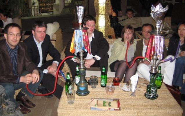 Eine Shisha gehört in Sharm El Sheikh wohl dazu. Ich rauche natürlich nicht, wie man an dem fehlenden Schlauch erkennen kann.