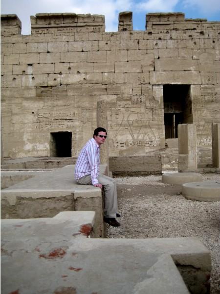 Gott sei Dank: Der Tempel ist noch älter als ich!