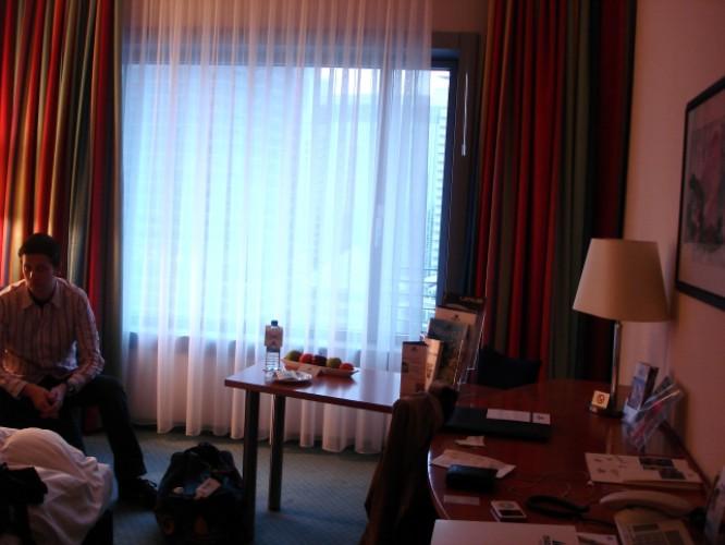 Maritim Hotel, Frankfurt, Deutschland, 29. Januar 2008