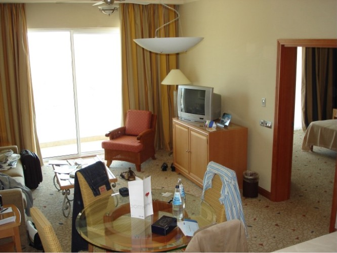 Radisson SAS Golden Sands Resort & Spa, Golden Bay, Malta, 20. Juli 2006