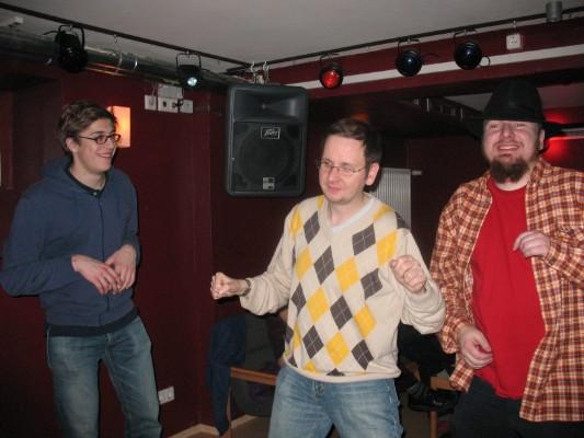 Da sage noch einer: Vi dansar inte like bra som sjömän.
