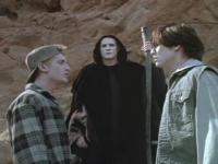 Bill (Alex Winter, links) und Ted (Keanu Reeves) müssen dem Tod ein Schnippchen schlagen.