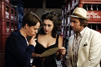 Regisseur Bennie (Tom Schilling, links) hat mit seiner Hauptdarstellerin und dem Produzenten zu kämpfen.