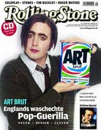 On The Cover Of The Rolling Stone - trotzdem können Art Brut nicht von ihrer Musik leben.