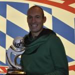 Wann er wieder spielen kann, weiß Arjen Robben selbst noch nicht.