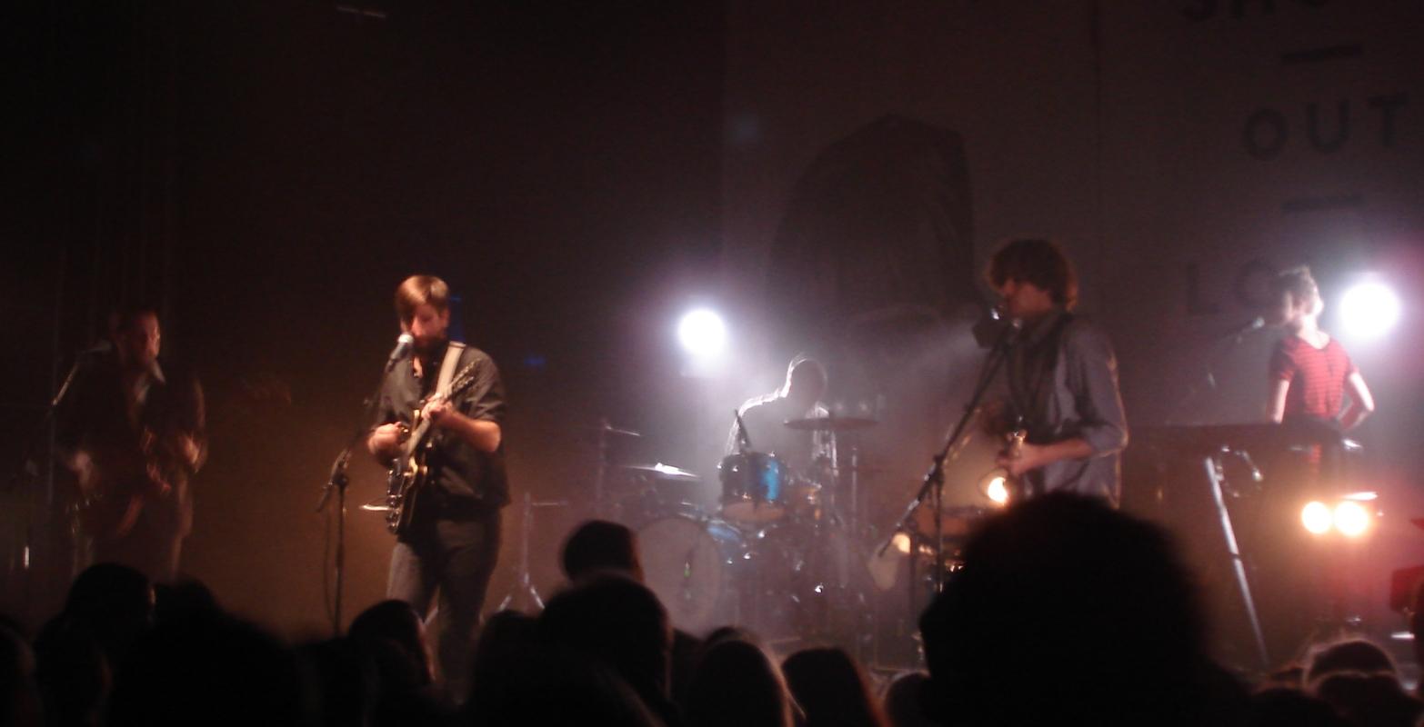 Wie zuvor schon Dag För Dag, so hatten auch die Shout Out Louds in Halle viel Lust auf Hall.