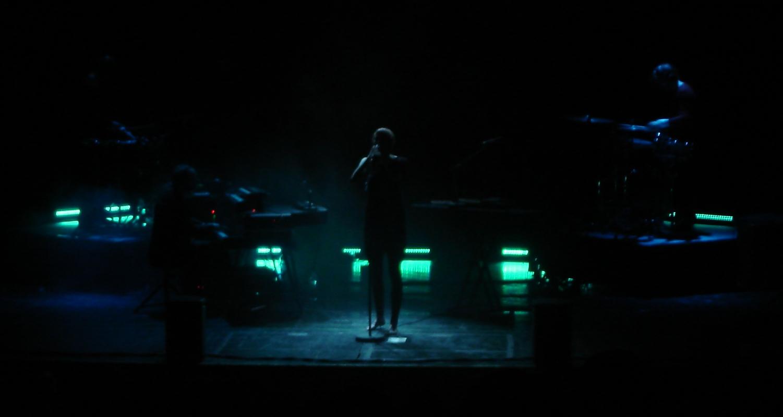 Der Sound von Hundreds passte perfekt zur Atmosphäre im Centraltheater.