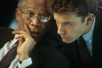 Jack Ryan (Ben Affleck, rechts) und William Cabot (Morgen Freeman) arbeiten für die CIA.