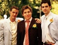 Torge (David Rott), Micha (Hanno Koffler) und Holger (Oliver Boysen, von links) sind Freunde fürs Leben.