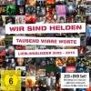 """40 Lieder + DVD: """"Tausend wirre Worte"""" bietet eine Menge fürs Geld."""