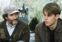 Psychiater Sean (Robin Williams) buhlt um das Vertrauen von Will (Matt Damon).