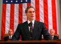 Dave Kovic (Kevin Kline) wird von allen für den US-Präsidenten gehalten.