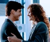 Julianne (Julia Roberts) will Michael (Dermot Mulroney) von der Hochzeit abhalten.