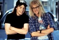 Wayne (Mike Myers) und Garth (Dana Carvey) werden zu Fernsehstars.