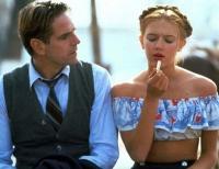Lolita (Dominique Swain) spielt mit den Gefühlen von Humbert (Jeremy Irons).