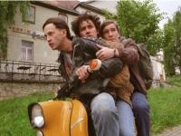 Thomas (Franz Dinda), Frank (Sergej Moya) und Alex (Frederick Lau, von links) sind auf der Flucht vor der Stasi.