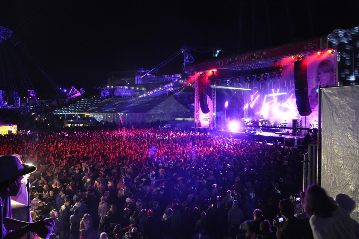 Mehr als 150 Acts waren beim Melt-Festival zu sehen.