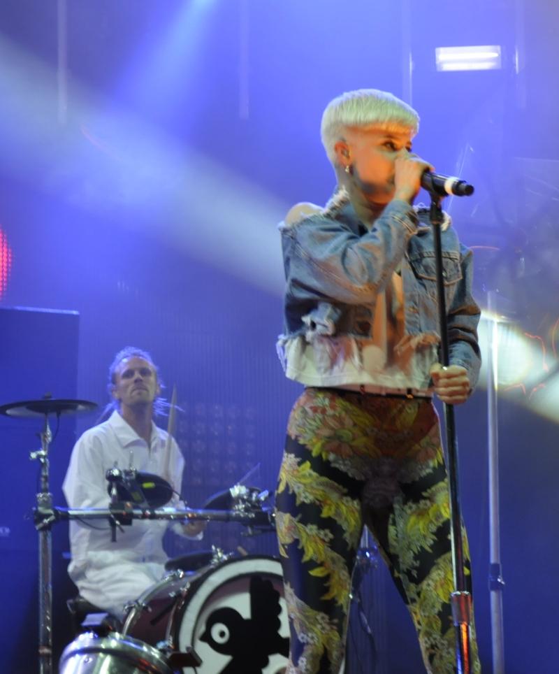 Einige ihrer größten Hits ließ Robyn beim Melt in Remix-Versionen erklingen.