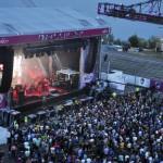 Ganz beachtlich: Beady Eye lockten ähnlich viele Fans vor die Hauptbühne wie Pulp einen Tag später.