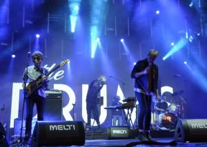 The Drums stellten beim Melt einige Songs des gerade vollendeten neuen Albums vor.