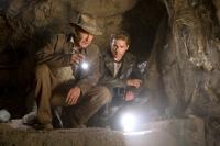 Professor Jones (Harrison Ford, links) und der junge Mutt (Shia LaBeouf) suchen eine Stadt aus Gold.