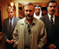 Der CIA-Agent Bob Barnes (George Clooney, vorne) wird in ein dubioses lgeschft verwickelt.