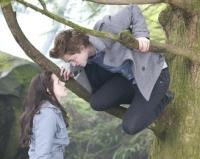 Bella (Kristen Stewart) ahnt, dass Edward (Robert Pattinson) ein düsteres Geheimnis hat.