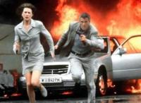 Julia Kelly (Nicole Kidman) und Thomas Devoe (George Clooney) sind hinter einer Atombombe her.