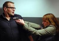 Johanna (Maria Simon) verdächtigt Björn (David Striesow), sie vergewaltigt zu haben.