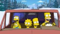 Die Simpsons müssen nach Alaska, weil ihre Heimatstadt bedroht ist.