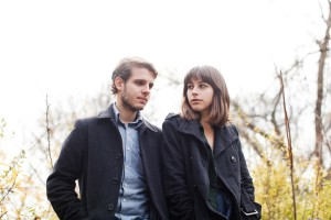 Evan Abeele und Denise Nouvion sind Memoryhouse. Foto: Off The Record PR