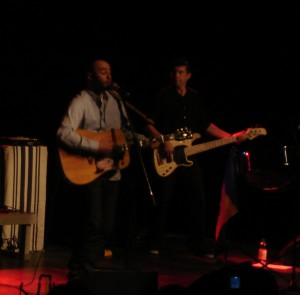 Das Konzert machte klar: Marlon Roudette liebt, was er tut.